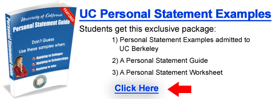 UC Personal Statement Examples Prompt 1
