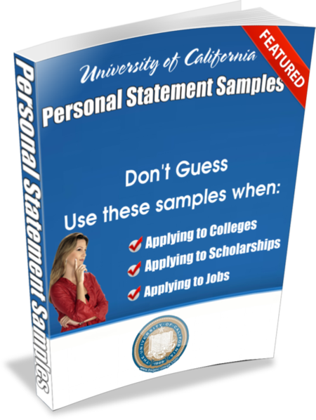 Personal Statement Samples