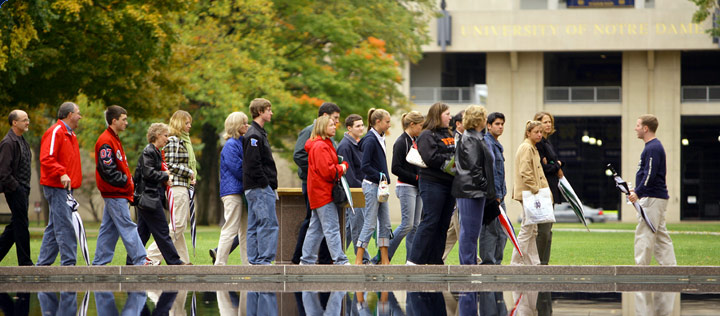 Parents and Students on a College Tour