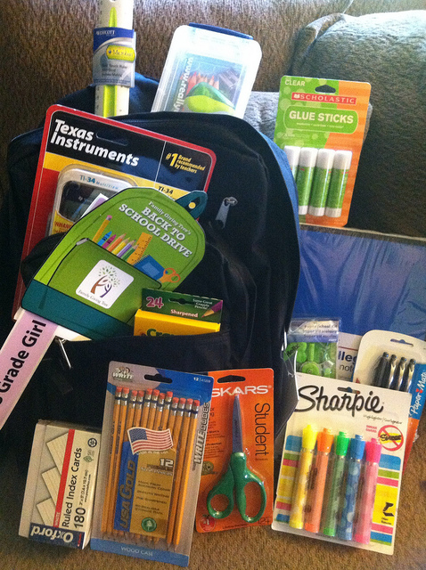 Collection of Eco-Friendly School Supplies