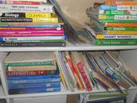 Shelf of Textbooks