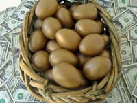 Money with Golden Eggs